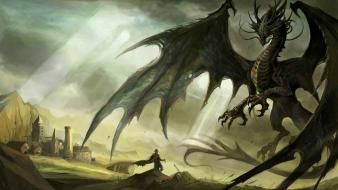Fantasy video games dragons artwork diablo iii wallpaper