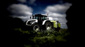 Farming agriculture valtra t202 claas rollant 355 wallpaper