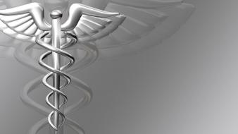Gray symbol medical healthy doctors caduceus wallpaper
