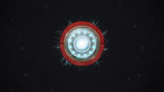 Iron man artwork arc reactor wallpaper