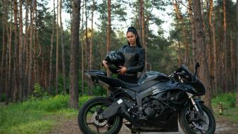 Kawasaki ninja ukrainian leather suit macy b wallpaper