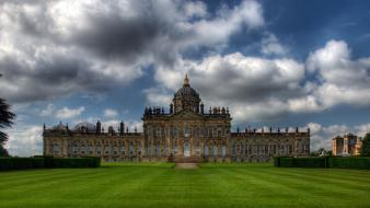 Landscapes castles england architecture fields united kingdom wallpaper