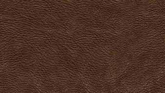 Leather brown textures wallpaper