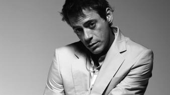 Men people grayscale robert downey jr actors wallpaper