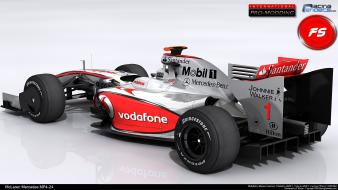 Mercedes Mclaren F1 Race Car Hd wallpaper
