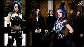 Metal band alissa white artists the agonist wallpaper