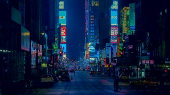 New york city manhattan times square broadway Wallpaper