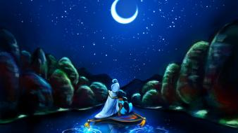 Princess jasmine night sky alice x zhang wallpaper