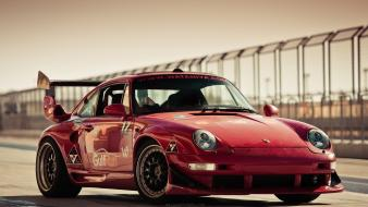 Red cars germany racing coupe porsche 911 brand wallpaper