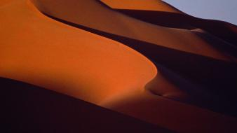 Sand desert shadows dunes wallpaper