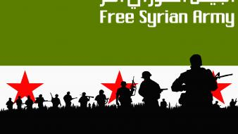 Squad army men syria syrian revolution free wallpaper
