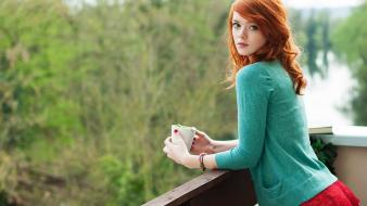 Tattoos women redheads lass (suicidegirls) wallpaper