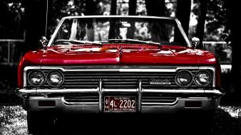 Transports tuning collectors headlights tire tracks impala wallpaper