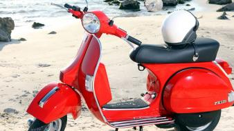 Vespa motorcycles Wallpaper