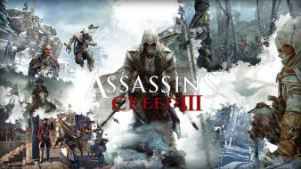 Video games assassins creed 3 tcrawlers wallpaper