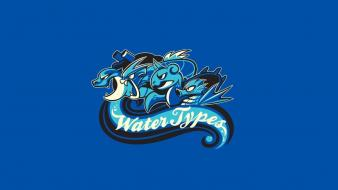 Water pokemon minimalistic funny horsea wallpaper