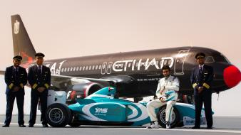 Abu dhabi etihad airways cars driver grand wallpaper