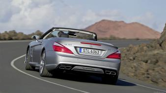 Amg mercedesbenz mercedes sl63 cars Wallpaper