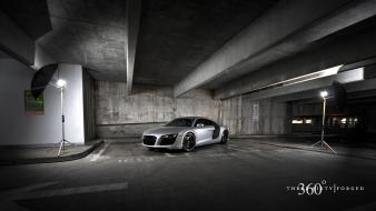 Audi cars garages night Wallpaper