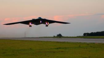 B2 spirit aircraft military stealth bomber wallpaper