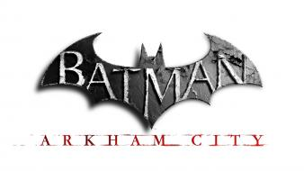Batman arkham city logos video games Wallpaper