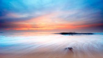 Beaches landscapes nature ocean sea wallpaper