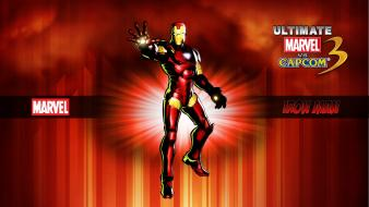 Capcom iron man marvel vs 3 comics wallpaper