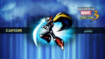 Capcom marvel vs 3 megaman zero ultimate wallpaper