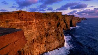 Cliffs of moher ireland nature wallpaper