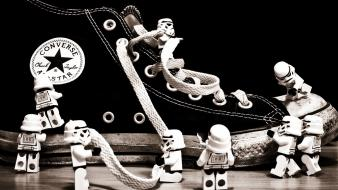 Converse lego star wars legos monochrome shoes wallpaper