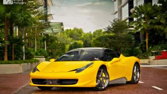 Ferrari 458 italia italian cars supercars wallpaper