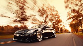 Infiniti g37 cars roads vehicles wallpaper