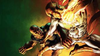 Iron fist luke cage marvel comics artwork wallpaper