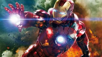 Iron man marvel the avengers movie movies wallpaper