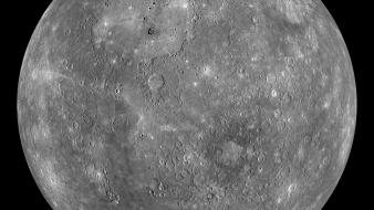 Mercury mosaic outer space planets wallpaper