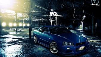Nissan skyline r34 gtr cars virtual tuning wallpaper