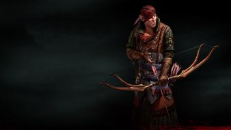 Of kings archery bow weapon elven captian wallpaper