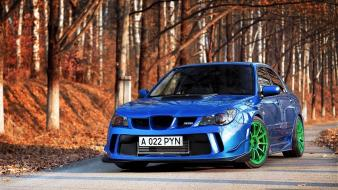 Subaru impreza wrx cars tuning vehicles wallpaper