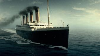 Titanic ocean ships vehicles water wallpaper