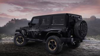 4x4 jeep wrangler suv cars concept art wallpaper
