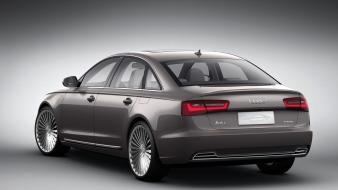 Audi a6 german cars tron concept wallpaper