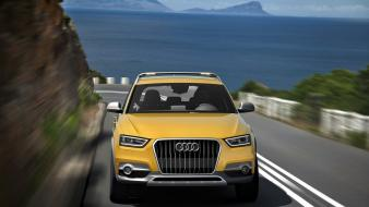 Audi q3 motion cars supercars wallpaper
