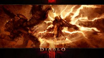 Blizzard entertainment diablo iii tyrael games wallpaper