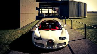Bugatti veyron grand sport cars front view wallpaper