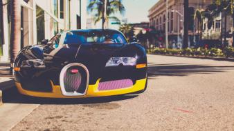 Bugatti veyron los angeles cars Wallpaper