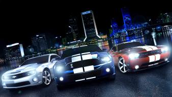 Camaro dodge challenger shelby mustang automobiles cars Wallpaper