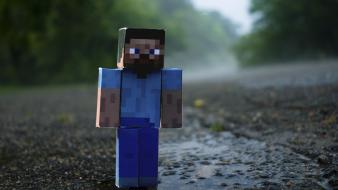 Danboard minecraft lonely rain wallpaper