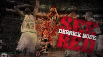 Derrick rose mvp most valuable player nba wallpaper