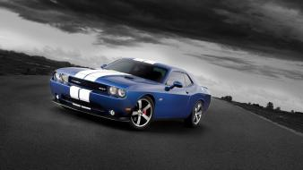 Dodge challenger automobiles cars races racing Wallpaper