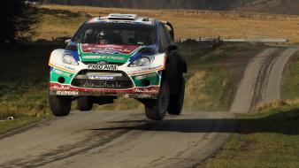 Ford fiesta wrc wales world rally championship wallpaper